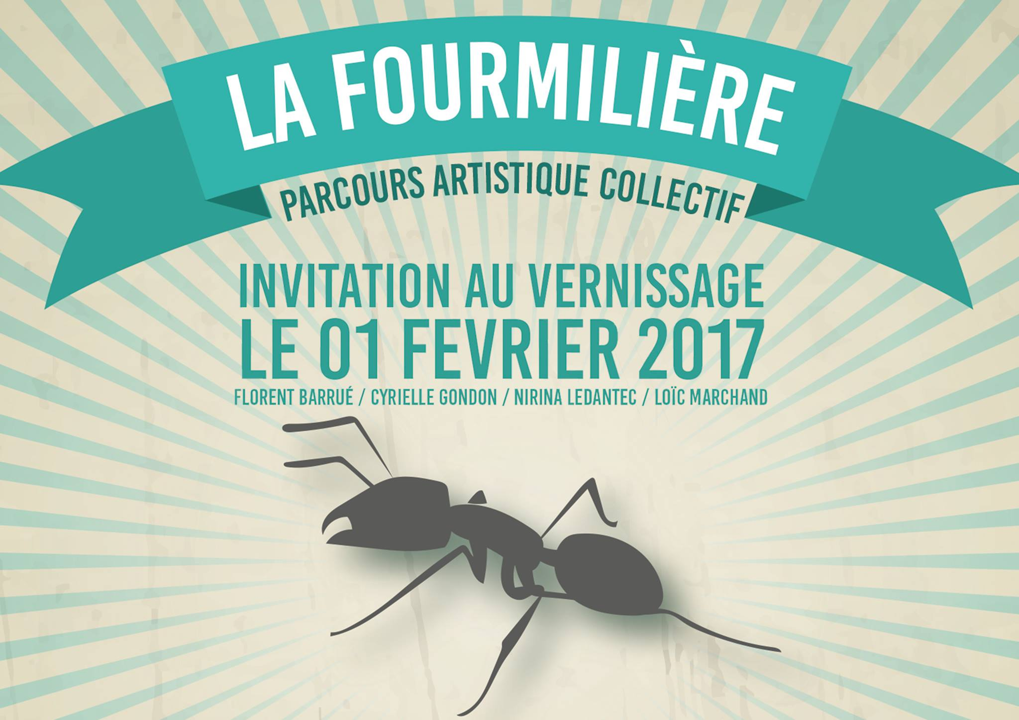Invitation fourmilière
