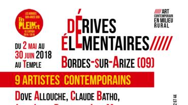 Association JAIPAT – Exposition «Dérives Élémentaires» : clôture samedi 30 juin !