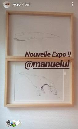 Exposition éphémère – Dessins de Manuel Henry – Le Passe Temps