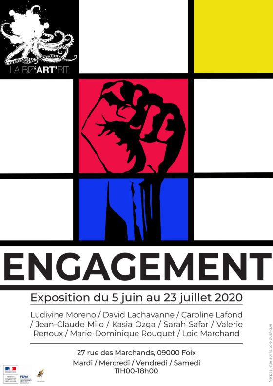 News Exposition COLLECTIVE  !   « Engagement »   !