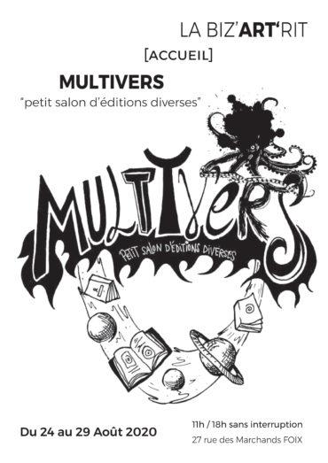 La Biz'ART'rit  accueil  MULTIVERS » Petit salon d'éditions diverses «
