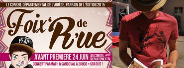 «Foix'de'Rue» – Foix – 24 Juin 2015