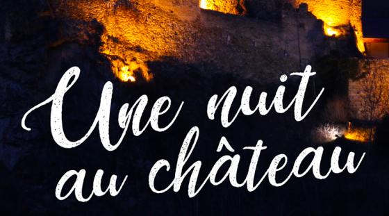 Une nuit au château – Château d'Usson, Rouze (09) – 26 Juillet 2017