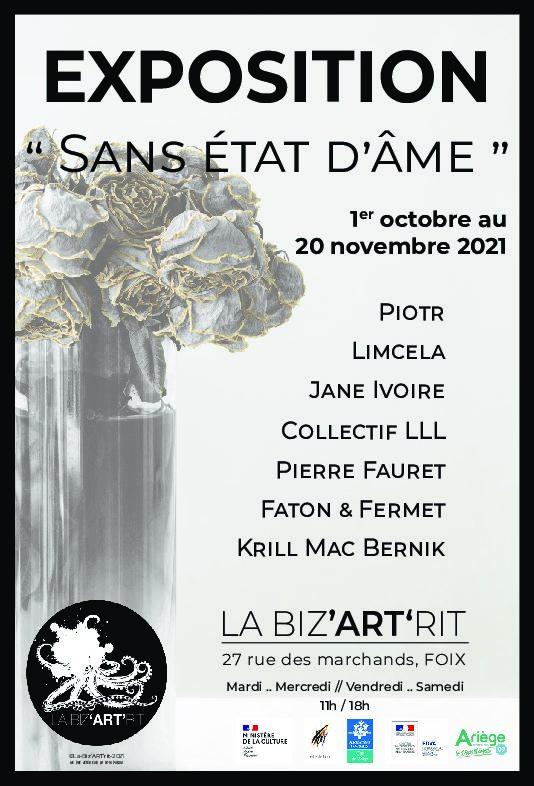 Exposition collective  «SANS ÉTAT D'ÂME»